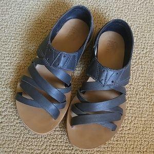 Sorel Black Leather Lake Shoe